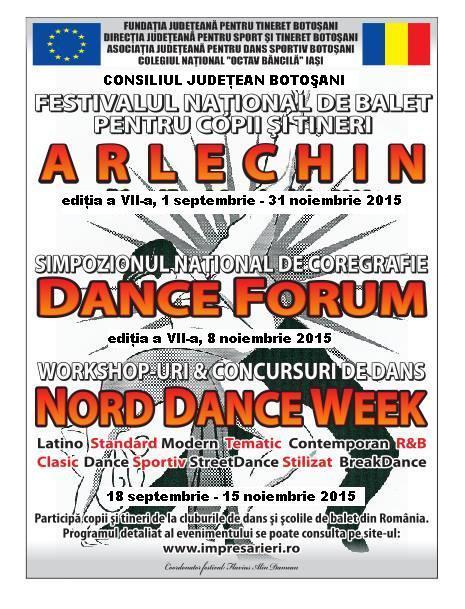 festivalul national de Balet ARLECHIN 2015