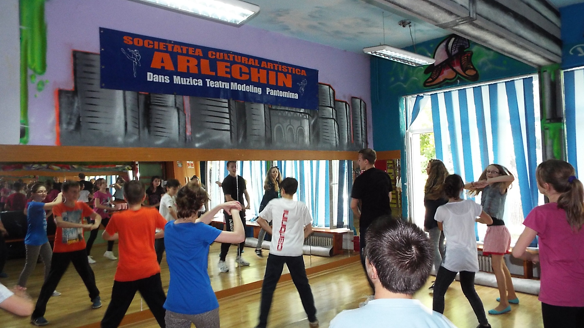 scoala dans arlechin botosani