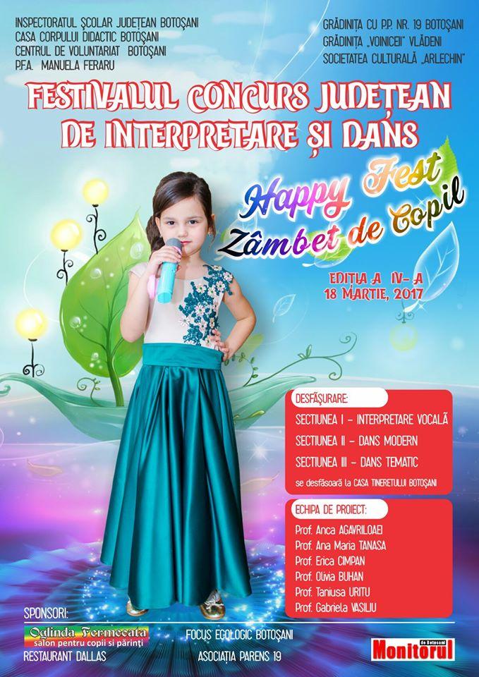 Happy Fest - Zâmbet de copil 2017